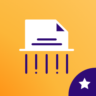 Icon: GDPR Search  Destroy
